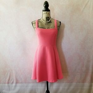 Divided H&M Neon Pink Dress
